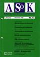 Cover ASoK 11/2000